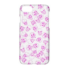 A Lot Of Skulls Pink Apple Iphone 8 Hardshell Case by jumpercat