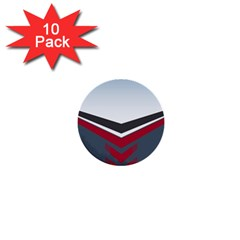Modern Shapes 1  Mini Buttons (10 Pack)  by jumpercat