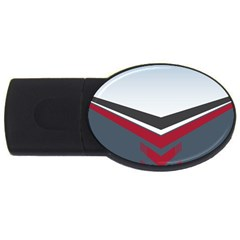 Modern Shapes Usb Flash Drive Oval (4 Gb) by jumpercat