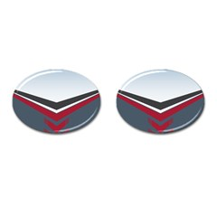 Modern Shapes Cufflinks (oval) by jumpercat