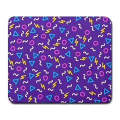 Retro Wave 1 Large Mousepads by jumpercat