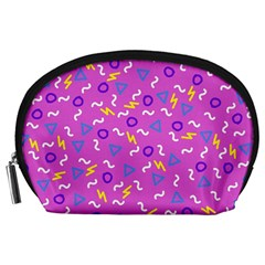 Retro Wave 2 Accessory Pouches (large)  by jumpercat