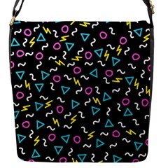 Retro Wave 3 Flap Messenger Bag (s) by jumpercat