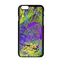 Ink Splash 02 Apple Iphone 6/6s Black Enamel Case by jumpercat