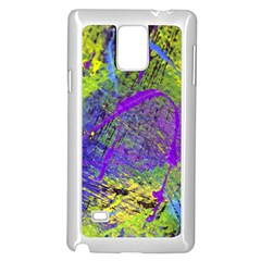 Ink Splash 02 Samsung Galaxy Note 4 Case (white) by jumpercat