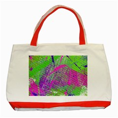 Ink Splash 03 Classic Tote Bag (red) by jumpercat