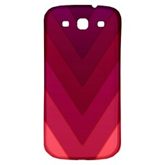 Tri 02 Samsung Galaxy S3 S Iii Classic Hardshell Back Case by jumpercat