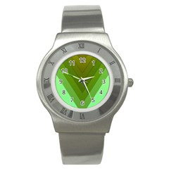 Tri 03 Stainless Steel Watch