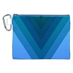 Tri 04 Canvas Cosmetic Bag (xxl) by jumpercat