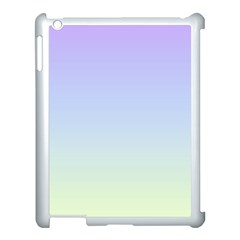 Vanilla Gradient Apple Ipad 3/4 Case (white) by jumpercat