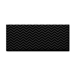 Dark Chevron Cosmetic Storage Cases by jumpercat