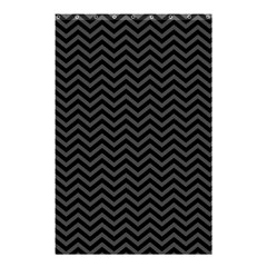 Dark Chevron Shower Curtain 48  X 72  (small)  by jumpercat