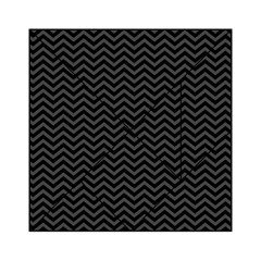 Dark Chevron Acrylic Tangram Puzzle (6  X 6 ) by jumpercat