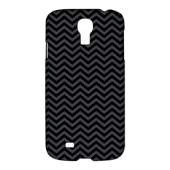Dark Chevron Samsung Galaxy S4 I9500/i9505 Hardshell Case by jumpercat