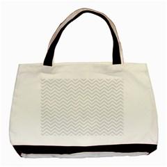 Light Chevron Basic Tote Bag by jumpercat