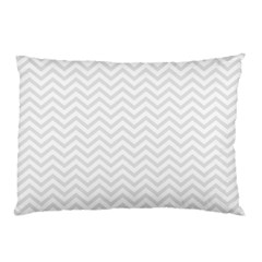 Light Chevron Pillow Case by jumpercat