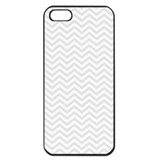 Light Chevron Apple Iphone 5 Seamless Case (black) by jumpercat