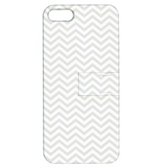 Light Chevron Apple Iphone 5 Hardshell Case With Stand by jumpercat