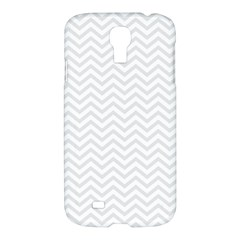 Light Chevron Samsung Galaxy S4 I9500/i9505 Hardshell Case by jumpercat