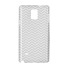 Light Chevron Samsung Galaxy Note 4 Hardshell Case by jumpercat