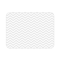 Light Chevron Double Sided Flano Blanket (mini)  by jumpercat