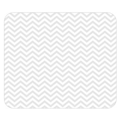 Light Chevron Double Sided Flano Blanket (small)  by jumpercat