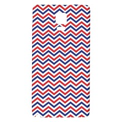 Navy Chevron Galaxy Note 4 Back Case by jumpercat