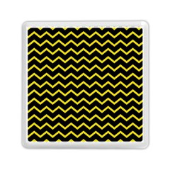 Yellow Chevron Memory Card Reader (square)  by jumpercat