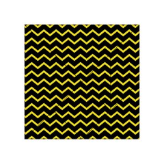 Yellow Chevron Acrylic Tangram Puzzle (4  X 4 ) by jumpercat