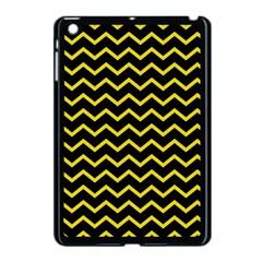 Yellow Chevron Apple Ipad Mini Case (black) by jumpercat