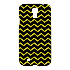 Yellow Chevron Samsung Galaxy S4 I9500/i9505 Hardshell Case by jumpercat