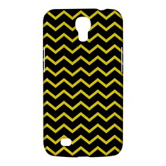 Yellow Chevron Samsung Galaxy Mega 6 3  I9200 Hardshell Case by jumpercat