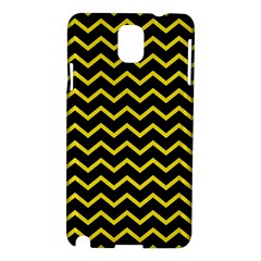 Yellow Chevron Samsung Galaxy Note 3 N9005 Hardshell Case by jumpercat