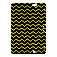 Yellow Chevron Kindle Fire Hdx 8 9  Hardshell Case by jumpercat