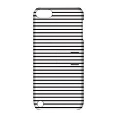 Basic Horizontal Stripes Apple Ipod Touch 5 Hardshell Case With Stand by jumpercat