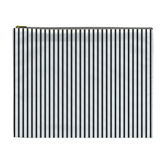 Basic Vertical Stripes Cosmetic Bag (xl) by jumpercat