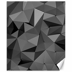 Geometric Doodle Canvas 8  X 10  by jumpercat
