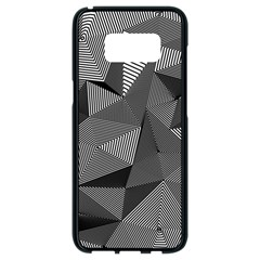 Geometric Doodle Samsung Galaxy S8 Black Seamless Case by jumpercat