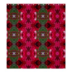 Christmas Colors Wrapping Paper Design Shower Curtain 66  X 72  (large)  by Fractalsandkaleidoscopes