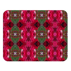 Christmas Colors Wrapping Paper Design Double Sided Flano Blanket (large)