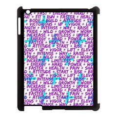 Hard Workout Apple Ipad 3/4 Case (black) by jumpercat