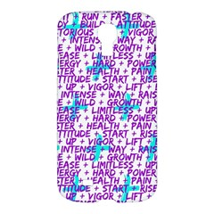 Hard Workout Samsung Galaxy S4 I9500/i9505 Hardshell Case by jumpercat