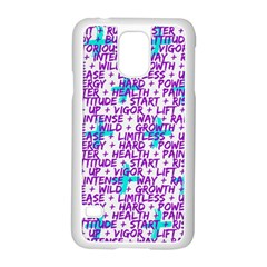 Hard Workout Samsung Galaxy S5 Case (white) by jumpercat