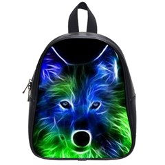 Neon Fox School Bag (small) by SpiritEye