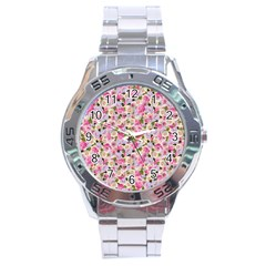 Gardenia Sweet Stainless Steel Analogue Watch by jumpercat
