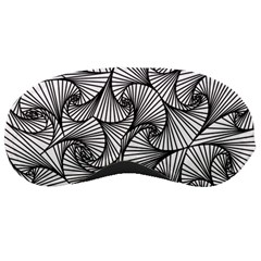 Fractal Sketch Light Sleeping Masks by jumpercat