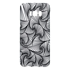 Fractal Sketch Light Samsung Galaxy S8 Plus Hardshell Case  by jumpercat