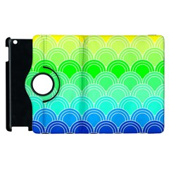 Art Deco Rain Bow Apple Ipad 2 Flip 360 Case by 8fugoso