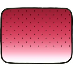 Watermelon Double Sided Fleece Blanket (mini)  by jumpercat
