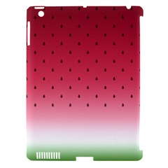 Watermelon Apple Ipad 3/4 Hardshell Case (compatible With Smart Cover) by jumpercat